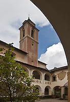 Europe/France/Provence-Alpes-Côtes d'Azur/06/Alpes-Maritimes/Alpes-Maritimes/Arrière Pays Niçois/Saorge: Cloitre du Couvent des Franciscains