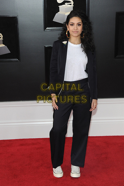 NEW YORK, NY - JANUARY 28: Alessia Cara at the 60th Annual GRAMMY Awards at Madison Square Garden on January 28, 2018 in New York City. <br /> CAP/MPI/JP<br /> &copy;JP/MPI/Capital Pictures