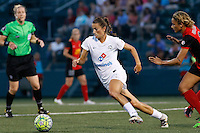 Rochester, NY - Saturday July 23, 2016: Mandy Laddish during a regular season National Women's Soccer League (NWSL) match between the Western New York Flash and FC Kansas City at Rochester Rhinos Stadium.