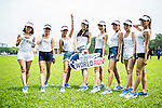 Participants compete at the Wings for Life World Run on May 2, 2015 in Yilan, Taiwan. Photo by Aitor Alcalde / Power Sport Images