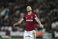 West Ham United's Marko Arnautovic<br /> <br /> Photographer Rob Newell/CameraSport<br /> <br /> The Premier League - West Ham United v Brighton and Hove Albion - Wednesday 2nd January 2019 - London Stadium - London<br /> <br /> World Copyright &copy; 2019 CameraSport. All rights reserved. 43 Linden Ave. Countesthorpe. Leicester. England. LE8 5PG - Tel: +44 (0) 116 277 4147 - admin@camerasport.com - www.camerasport.com