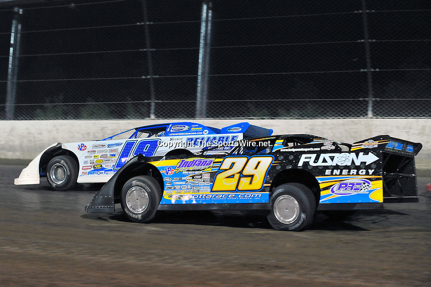 Jun 6, 2009; 11:05:39 PM; Rossburg, OH., USA; The running of the Dream XV  Dirt Late Models at the Eldora Speedway.  Mandatory Credit: (thesportswire.net)