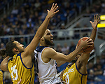 Nevada forward Caleb Martin (10) takes a shot against California Baptist in the second half of an NCAA college basketball game in Reno, Nev., Friday, Nov. 16, 2018. (AP Photo/Tom R. Smedes)