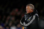 Chris Wilder manager of Sheffield Utd during the Premier League match at Bramall Lane, Sheffield. Picture date: 5th December 2019. Picture credit should read: Simon Bellis/Sportimage