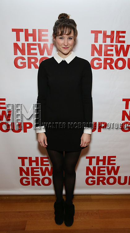 """Jill Paice attends the Off-Broadway Opening Night Premiere of  """"Jerry Springer-The Opera"""" on February 22, 2018 at the Roundabout Rehearsal Studios in New York City."""