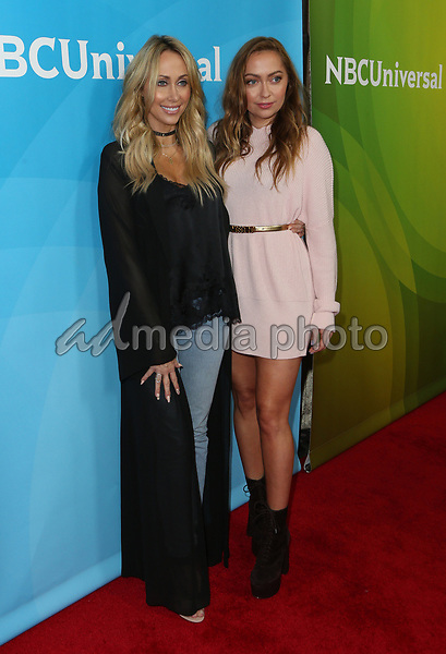 20 March 2017 - Beverly Hills California - Tish Cyrus, Brandi Cyrus. 2017 NBCUniversal Summer Press Day held at The Beverly Hilton Hotel. Photo Credit: AdMedia