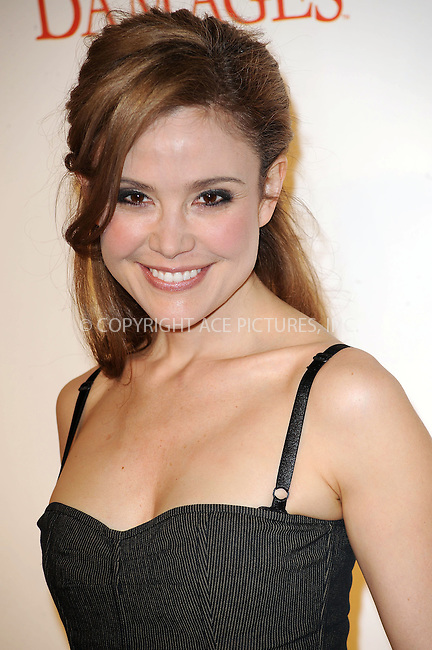 WWW.ACEPIXS.COM . . . . . ....January 19 2010, New York City....Actress Reiko Aylesworth arriving at the Season 3 premiere of 'Damages' at the AXA Equitable Center on January 19, 2010 in New York City.....Please byline: KRISTIN CALLAHAN - ACEPIXS.COM.. . . . . . ..Ace Pictures, Inc:  ..tel: (212) 243 8787 or (646) 769 0430..e-mail: info@acepixs.com..web: http://www.acepixs.com