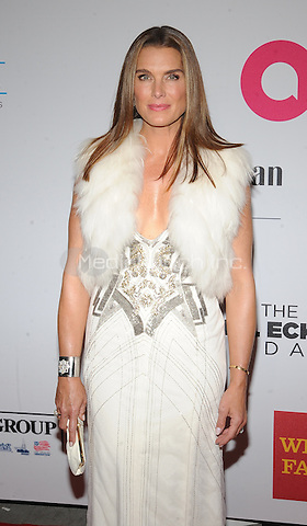 New York,NY- October 28: Brooke Shields attends the Elton John AIDS Foundation's 13th Annual An Enduring Vision Benefit at Cipriani Wall Street on October 28, 2014 in New York City In New York City on October 27, 2014 . Credit: John Palmer/MediaPunch