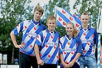 FIERLJEPPEN: JOURE: Accommodatie Koarte Ekers, Fierljepvereniging De Lege Wâlden Joure, 23-06-2012, 1e Klas wedstrijd, , ©foto Martin de Jong