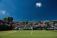 A general view of Court 2, at The All England Lawn Tennis and Croquet Club<br /> <br /> Photographer Ashley Western/CameraSport<br /> <br /> Wimbledon Lawn Tennis Championships - Day 3 - Wednesday 5th July 2017 -  All England Lawn Tennis and Croquet Club - Wimbledon - London - England<br /> <br /> World Copyright &not;&copy; 2017 CameraSport. All rights reserved. 43 Linden Ave. Countesthorpe. Leicester. England. LE8 5PG - Tel: +44 (0) 116 277 4147 - admin@camerasport.com - www.camerasport.com