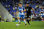 League Santander 2017-2018 - Game: 4.<br /> RCD Espanyol vs Celta: 2-1.<br /> Jose Manuel Jurado vs Cabral.