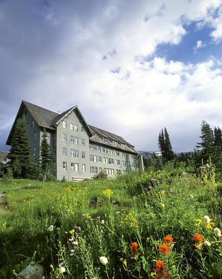 Paradise Lodge, Mt. Rainier National Park, Washington
