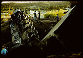 #494 K37 &amp; #483 K-36 wrecked.<br /> D&amp;RGW