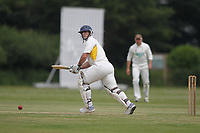 Skipper of Rainham during Bentley CC (Bowling) vs Rainham CC, T Rippon Mid Essex Cricket League Cricket at Coxtie Green Road on 9th June 2018