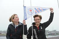 SKUTSJESILEN: HEEG: Skûtsje 'Jonge Jasper', 06-06-2012, Noortje Goedhart-Schwandt, Froukje Osinga-Meijer, ©foto Martin de Jong