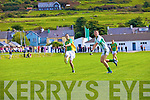 St Kiernans James Walsh can only look on as South Kerry's John Golden knocks another over the bar.