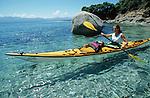Kayaking in Corsica