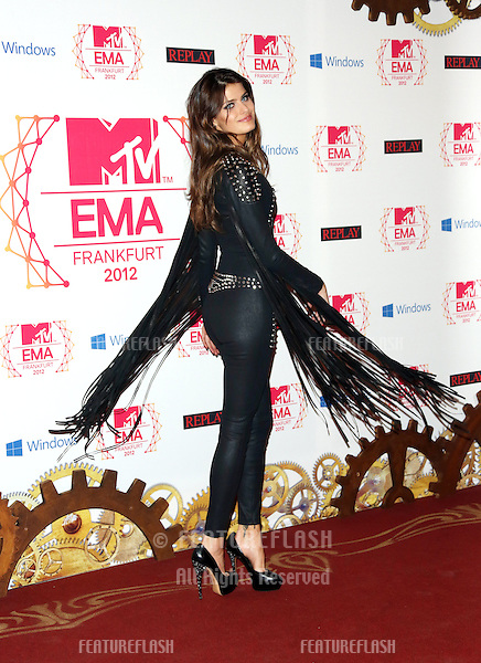 Isabeli Fontana at The MTV EMA's 2012 held at Festhalle - press room, Frankfurt, Germany. 11/11/2012 Picture by: Henry Harris / Featureflash