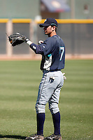 Nick Franklin - Seattle Mariners 2009 Instructional League. .Photo by:  Bill Mitchell/Four Seam Images..