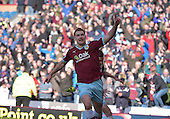 02/05/16 Sky Bet League Championship  Burnley v QPR<br /> Sam Vokes celebrates after scoring the winning goal
