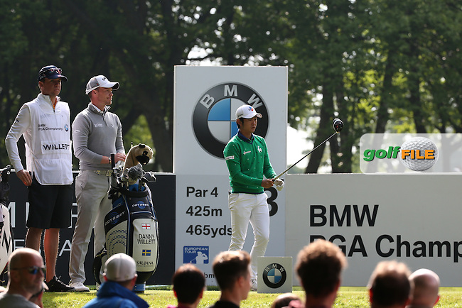 Soomin Lee (KOR) during Round Two of the 2016 BMW PGA Championship over the West Course at Wentworth, Virginia Water, London. 27/05/2016. Picture: Golffile | David Lloyd. <br /> <br /> All photo usage must display a mandatory copyright credit to &copy; Golffile | David Lloyd.