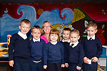 Starting out<br /> ---------------<br /> Fiona Cooke teacher in Flemby NS with her new junior infants last Tuesday were Eoin O'Sullivan,Oran McGovern, Nicole Grundull,Alex Hotjkin and Samuel&amp;Paul Murphy