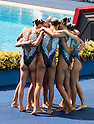 Russia team group (RUS), AUGUST 19, 2016 - Synchronized Swimming : Teams Free Routine Final at Maria Lenk Aquatic Centre during the Rio 2016 Olympic Games in Rio de Janeiro, Brazil. (Photo by Enrico Calderoni/AFLO SPORT)