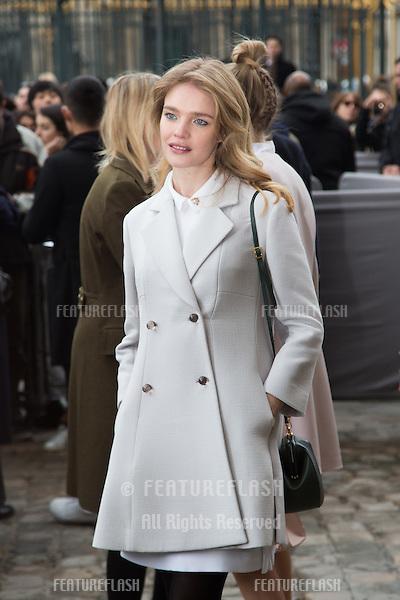 0c201639fec1 Natalia Vodianova arrives at the Christian Dior show as part of the Paris  Fashion Week Womenswear