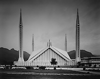 The main Mosque of Islamabad, Pakistan on Tuesday November 24, 2009.