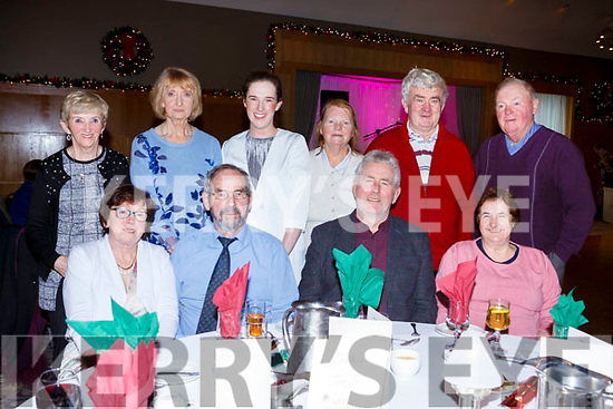 The Ballyduff Active Retirement group having their Christmas party at the Ballyroe Heights Hotel on Sunday last. Seated l-r, Margaret O'Connor, Paudie Diggins, Jim McEllistrim, Bridie Houlihan, Back l-r, Kathleen Condon, Ann Flanagan, Helena Houlihan, Peggy Lynch, Donnie Lynch and Andrew Sheehy.
