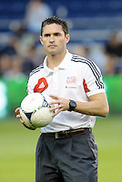 Jay Heaps Head Coach New England Revolution... Sporting Kansas City defeated New England Revolution 3-0 at LIVESTRONG Sporting Park, Kansas City, Kansas.