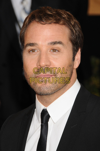 JEREMY PIVEN .15th Annual Screen Actors Guild Awards held at the Shrine Auditorium,  Los Angeles, California, USA, .25 January 2009..SAG red carpet arrivals portrait headshot  beard facial hair stubble  black suit tie .CAP/ADM/BP.©Byron Purvis/Admedia/Capital PIctures