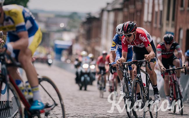 Tiesj Benoot (BEL/Lotto-Soudal)<br /> <br /> Belgian National Championships 2018 (road) in Binche (224km)<br /> ©kramon
