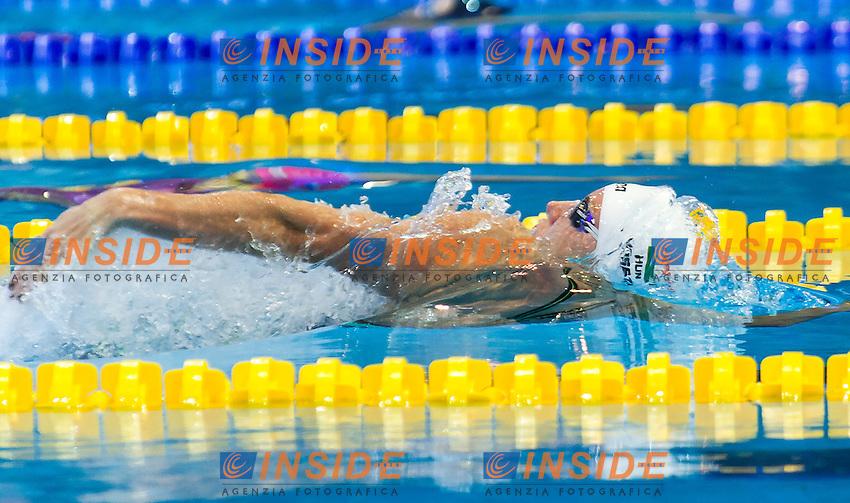 HOSSZU Katinka HUN<br />Women's 100m backstroke heats<br />Netanya, Israel, Wingate Institute<br />LEN European Short Course Swimming Championships  Dec. 2 - 6, 2015 Day01 Dec. 2nd<br />Nuoto Campionati Europei di nuoto in vasca corta<br />Photo Giorgio Perottino/Deepbluemedia/Insidefoto