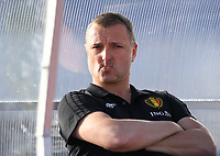 20200310  Lagos , Portugal : Belgian head coach Ives Serneels pictured during the female football game between the national teams of Belgium called the Red Flames and Denmark on the third and last matchday for the 5th or 6th place of the Algarve Cup 2020 , a prestigious friendly womensoccer tournament in Portugal , on tuesday 10 th March 2020 in Lagos , Portugal . PHOTO SPORTPIX.BE | DAVID CATRY