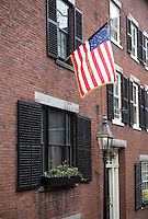 acorn Street Row houses Beacon Hill District Boston