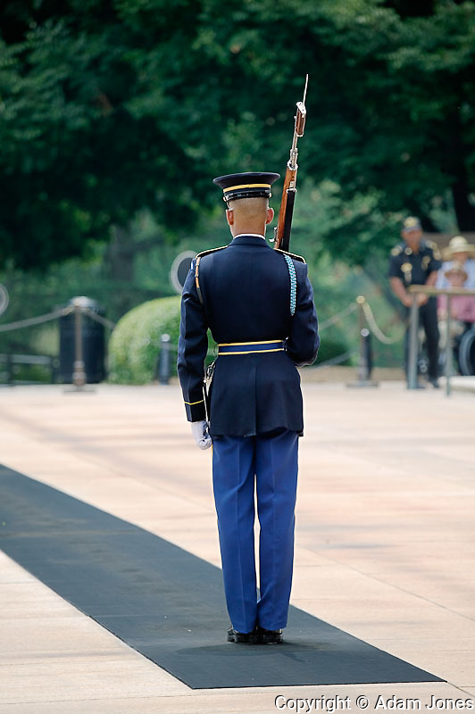 Changing of the Guard at the Tomb of the Unknown Soldiers, Arlington National Cemetery, Washington, D.C.