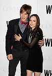 "HOLLYWOOD, CA. - September 29: Landon Pigg and Ellen Page arrive at the Los Angeles premiere of ""Whip It"" at the Grauman's Chinese Theatre on September 29, 2009 in Hollywood, California."