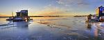 new ice on Yellowknife Bay
