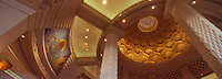 Iles Bahamas / New Providence et Paradise Island / Nassau: Hotel Atlantis à Paradise Island détail de la fresque du hall représentant l'Atlantide