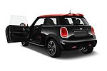 Car images close up view of a 2017 Mini Cooper John Cooper Works 2 Door Convertible doors