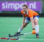 HUIZEN - Hockey - Nine Rijna (Bldaal)   . Hoofdklasse hockey competitie, Huizen-Bloemendaal (2-1) . COPYRIGHT KOEN SUYK