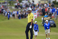 Rafa Cabrera-Bello (ESP) on the 18th green during Sunday's Final Round of the Dubai Duty Free Irish Open 2019, held at Lahinch Golf Club, Lahinch, Ireland. 7th July 2019.<br /> Picture: Eoin Clarke | Golffile<br /> <br /> <br /> All photos usage must carry mandatory copyright credit (© Golffile | Eoin Clarke)