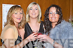TOASTING: Deirdre McElroy,Lorraine O'Sullivan and Geraldine Sheehan toasting to a wonderful night at the Niall Mellon Township Trust Charity Gala Ball at Ballygarry House Hotel & Spa, Tralee on Friday night...v....   Copyright Kerry's Eye 2008