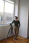 Jamie Beck, who runs a successful Tumblr fashion blog called From Me To You, poses for a portrait at Brooklyn Studios on Wednesday, August 31st. ..Danny Ghitis for The New York Times