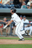West Michigan Whitecaps outfielder Jamie Johnson (8) during a game vs. the South Bend Silver Hawks at Fifth Third Field in Comstock Park, Michigan August 16, 2010.   West Michigan defeated South Bend 3-2.  Photo By Mike Janes/Four Seam Images