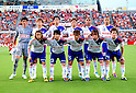 Albirex Niigata team group line-up,JULY 16, 2011 - Football :Albirex Niigata team group shot (Top row - L to R) Hideaki Ozawa, Naoki Ishikawa, Naoya Kikuchi, Daisuke Suzuki, Bruno Lopes, Kengo Kawamata, (Bottom row - L to R) Fumiya Kogure, Atomu Tanaka, Isao Honma, Yuta Mikado and Gotoku Sakai before the 2011 J.League Division 1 match between Shimizu S-Pulse 2-1 Albirex Niigata at OUTSOURCING Stadium Nihondaira in Shizuoka, Japan. (Photo by AFLO)