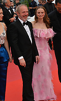 "CANNES, FRANCE. May 22, 2019: rnaud Desplechin & Sara Forestier at the gala premiere for ""Oh Mercy!"" at the Festival de Cannes.<br /> Picture: Paul Smith / Featureflash"