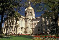 State Capitol, State House, Atlanta, Georgia, GA, The State Capitol Building in the spring in the capital city of Atlanta.