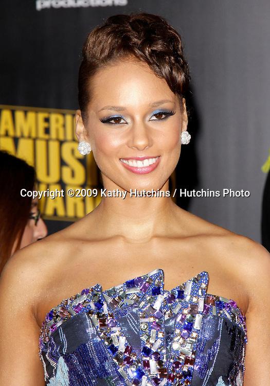Alicia Keys.The 2009 American Music Awards - Arrivals.Nokia Theatre L.A. Live.Los Angeles, CA.November 22, 2009.©2009 Hutchins Photo....